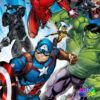 Marvel Bosszúállók rohama ágyneműhuzat - Pamut