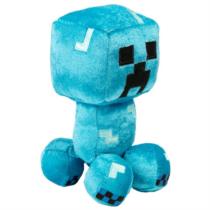 Minecraft elektromos Creeper plüss 18cm