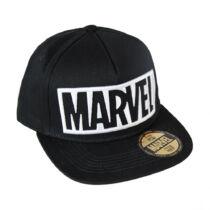 Marvel logós fekete snapback sapka