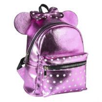 Minnie Mouse lila műbőr hátizsák