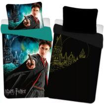 Harry Potter és a Roxfort foszforeszkáló ágyneműhuzat - Pamut