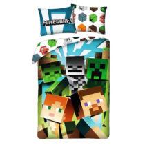 Minecraft Steve&Alex és a Mobok ágyneműhuzat - Pamut