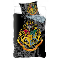 Harry Potter Roxfort fekete Ágyneműhuzat - Pamut