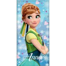 Frozen Jégvarázs Anna strand törölköző - Pamut