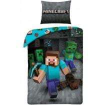 Minecraft Steve és a Mobok ágyneműhuzat - Pamut