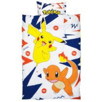 Pokémon Pikachu Charmander ágyneműhuzat - Pamut
