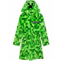 Minecraft Creeper mintás zöld Köntös