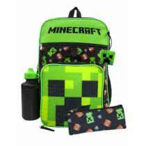 Minecraft Creeper és TNT 5 darabos Iskolatáska szett