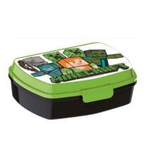 Minecraft műanyag uzsonnás doboz - szendvicsdoboz