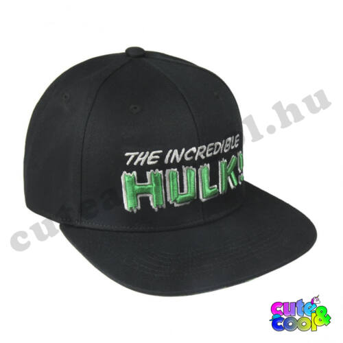 Marvel Incredible Hulk snapback sapka