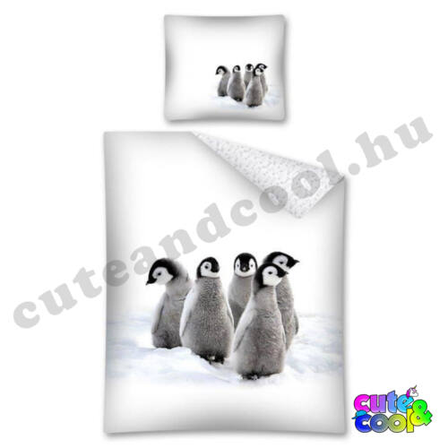 Pingvines ágyneműhuzat - Pamut