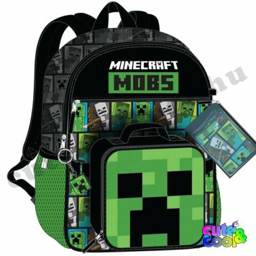 Minecraft Mob 5 darabos iskolatáska szett