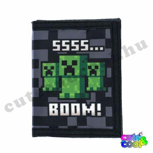 Minecraft SSSS... Boom! Creeper pénztárca