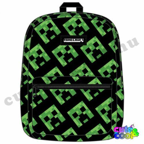 Minecraft Creeper mintás hátizsák, táska
