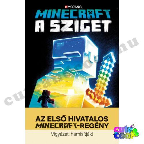 Minecraft - A Sziget - Könyv