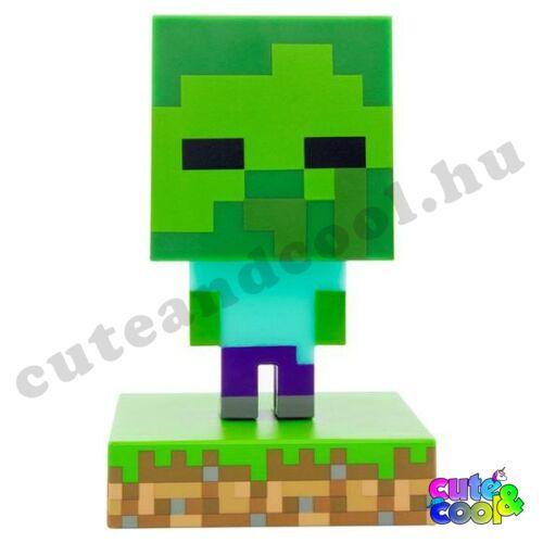 Minecraft Zombie 3D lámpa