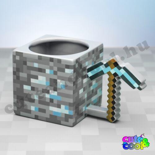 Minecraft gyémántcsákány bögre
