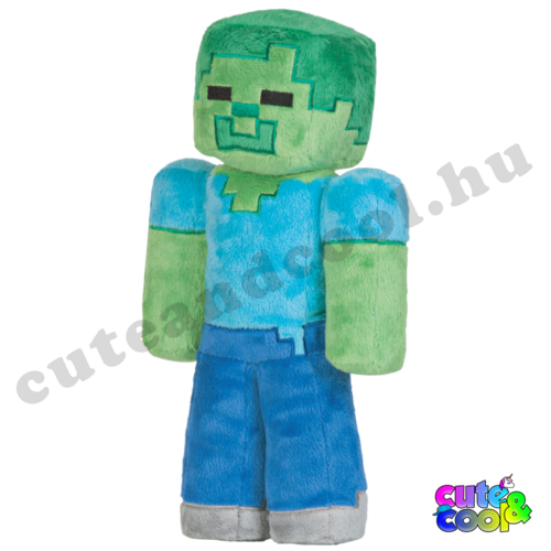Minecraft Zombi plüss 32cm
