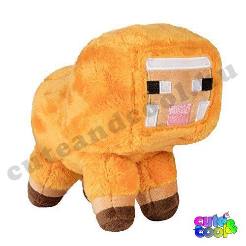 Minecraft sárga bárány plüss