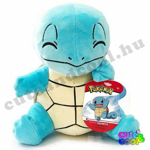 Pokémon #7 Squirtle Plüss 20cm