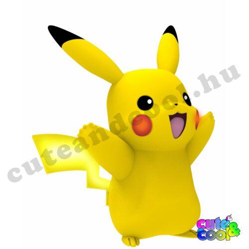 Pokémon világító-mozgó interaktív Pikachu figura