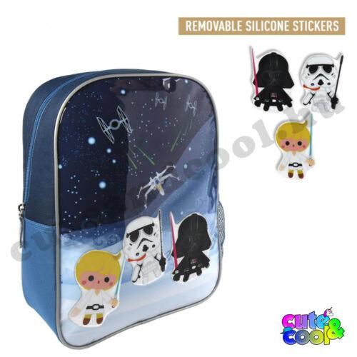 Star Wars gyerek hátizsák matricákkal