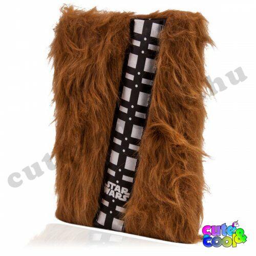 Star Wars Chewbacca szőrmés notesz