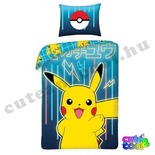 Pokémon Pikachu ágyneműhuzat - Pamut