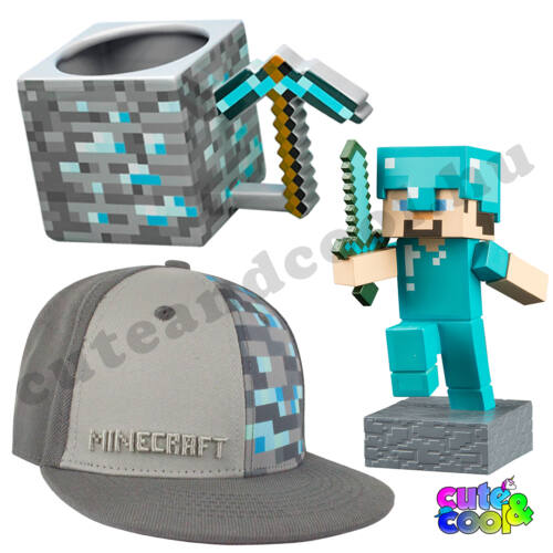 Minecraft Gyémánt 3db-os Ajándékcsomag