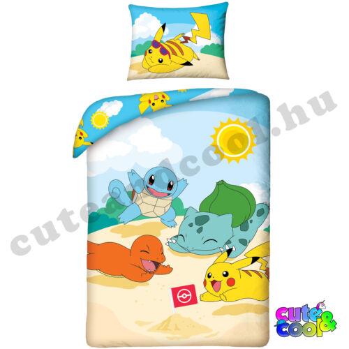 Pokémon nyári kaland ágyneműhuzat - Pamut