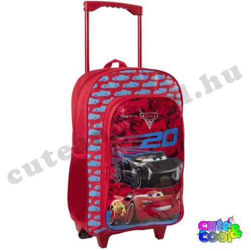 Verdák gurulós bőrönd - iskolatáska