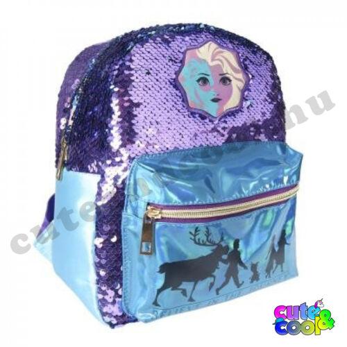 Frozen Elza simi flitteres táska