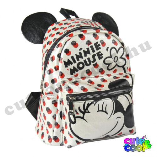 Minnie Pöttyös műbőr hátizsák