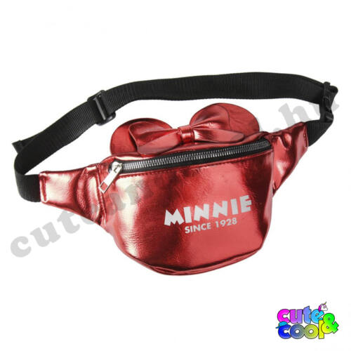 Minnie Mouse piros műbőr övtáska