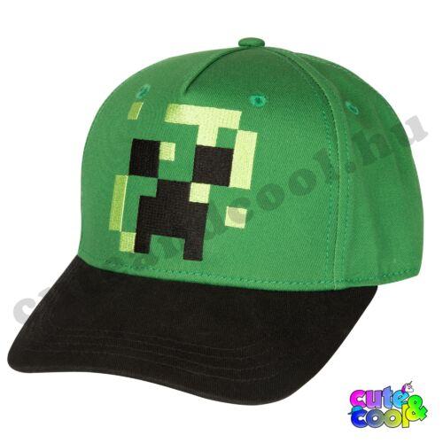 Minecraft Creeper Skin baseball sapka - állítható