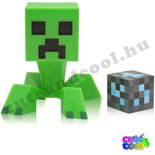 Minecraft Creeper figura gyémántblokkal
