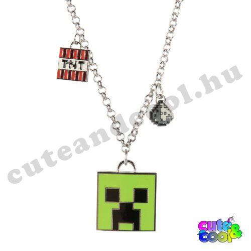 Minecraft Creeper nyaklánc
