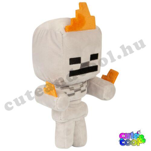 Minecraft lángra kapott Csonti plüss