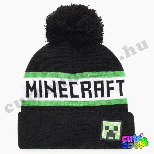 Minecraft feliratos bojtos sapka