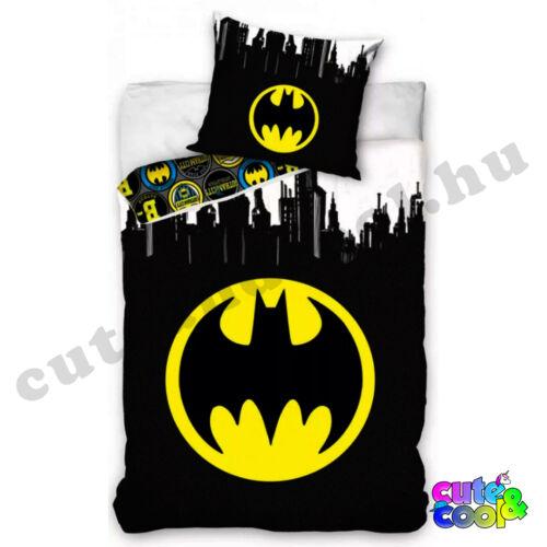 Batman kerek logós ágyneműhuzat - Pamut