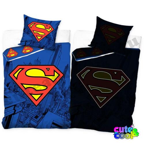 menő foszforeszkálós superman szuperhősös ágynemű