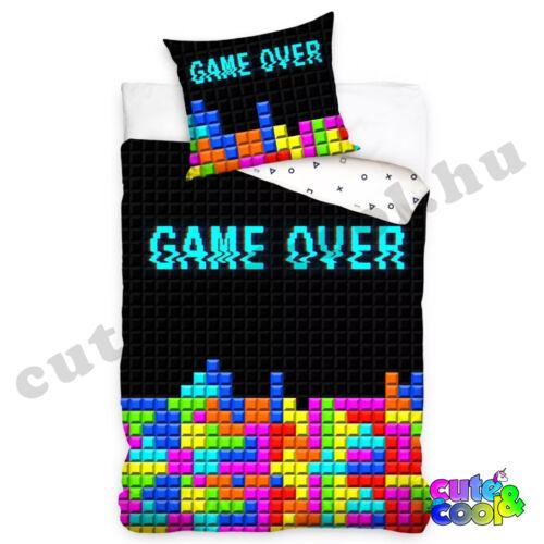 Gamer - Game Over ágyneműhuzat - Pamut