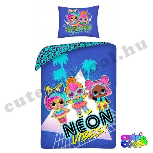 LOL Surprise - Neon Vibes ágyneműhuzat - Pamut