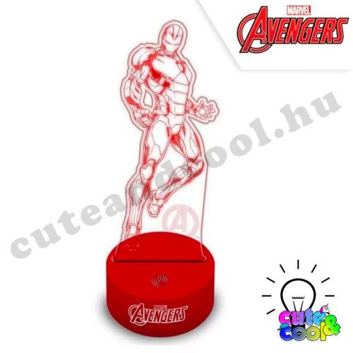Marvel Vasember 3D álló led lámpa