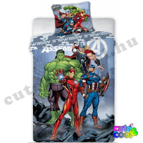 Marvel Avengers ágyneműhuzat - Pamut