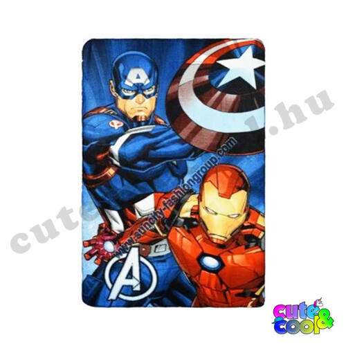 Marvel Vasember és Amerika Kapitány Polár takaró