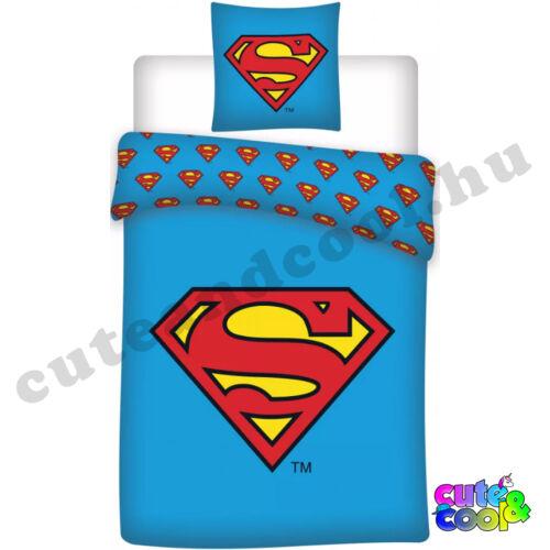 DC Superman logós ágyneműhuzat - Pamut