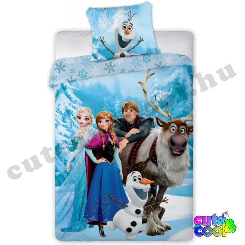 Frozen Jégvarázs kék ágyneműhuzat - Pamut