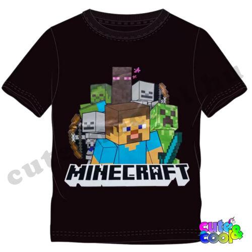 Minecraft Steve és a szörnyek gyerek póló