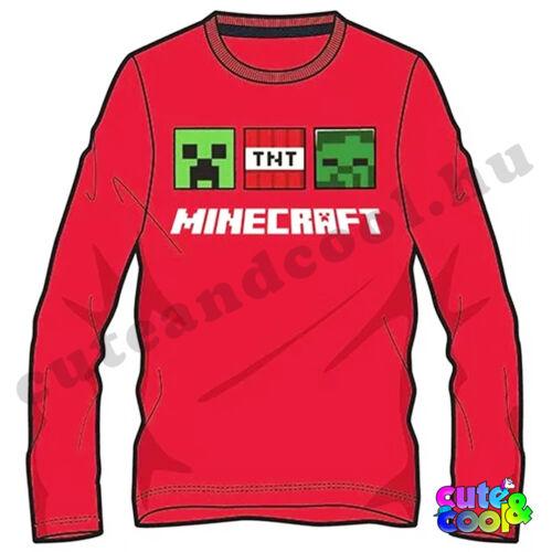 Minecraftos gyerekruha pamut
